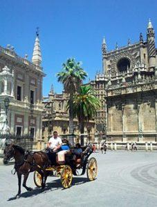 Ein Abstecher in die Innenstadt von Sevilla