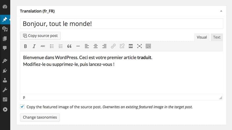 Mit dem WordPress Mehrsprachigkeitsplugin unkompliziert mehrsprachige Webseiten verwalten.