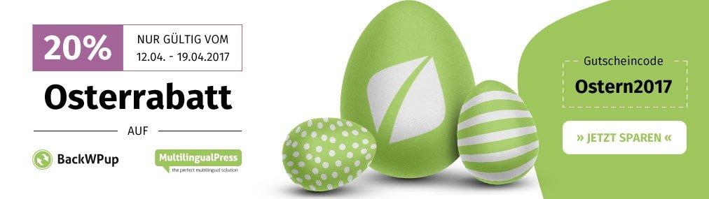 Rabatte zu Ostern bei Inpsyde!
