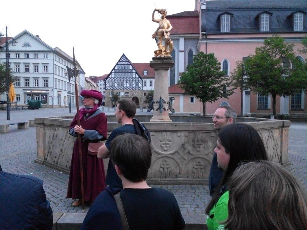 Inpsyder bei der Stadtführung in Eisenach