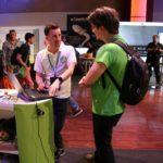 WordCamp Europe Paris Review. Inpsyder Moritz bei Sponsoren