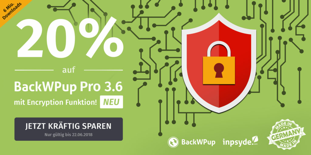 WordPress Backup Plugin DSGVO konform nutzen: Mit BackWPup PRO