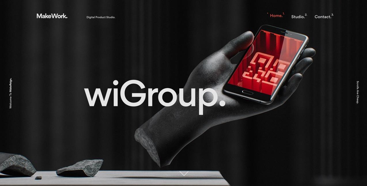Web Designtrends 2019 3D Elemente