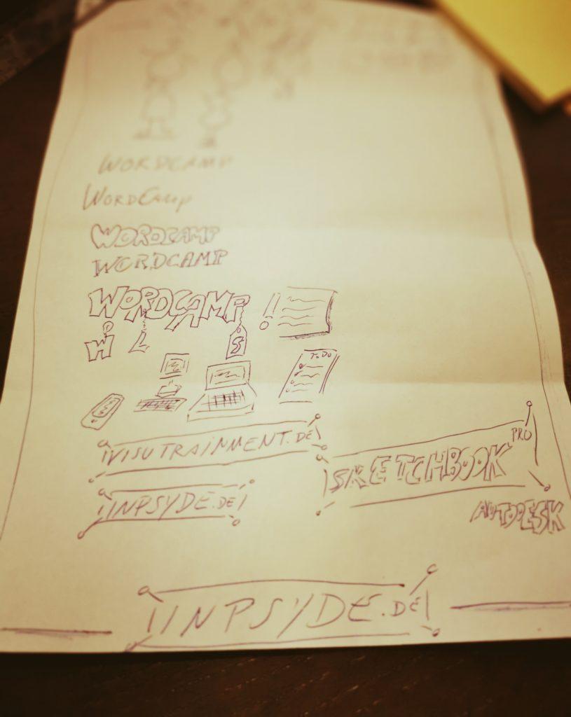 Sketch Notes für bessere Visualisierung von Webprojekten