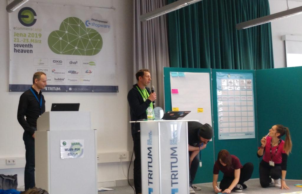 Frank Bültge at eCommerceCamp in Jena
