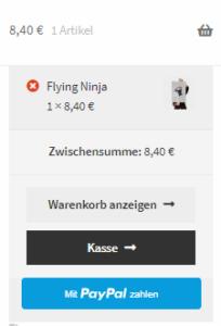 Mit dem neuen PayPal PLUS-Express-Checkout-Button geht der Einkauf viel schneller