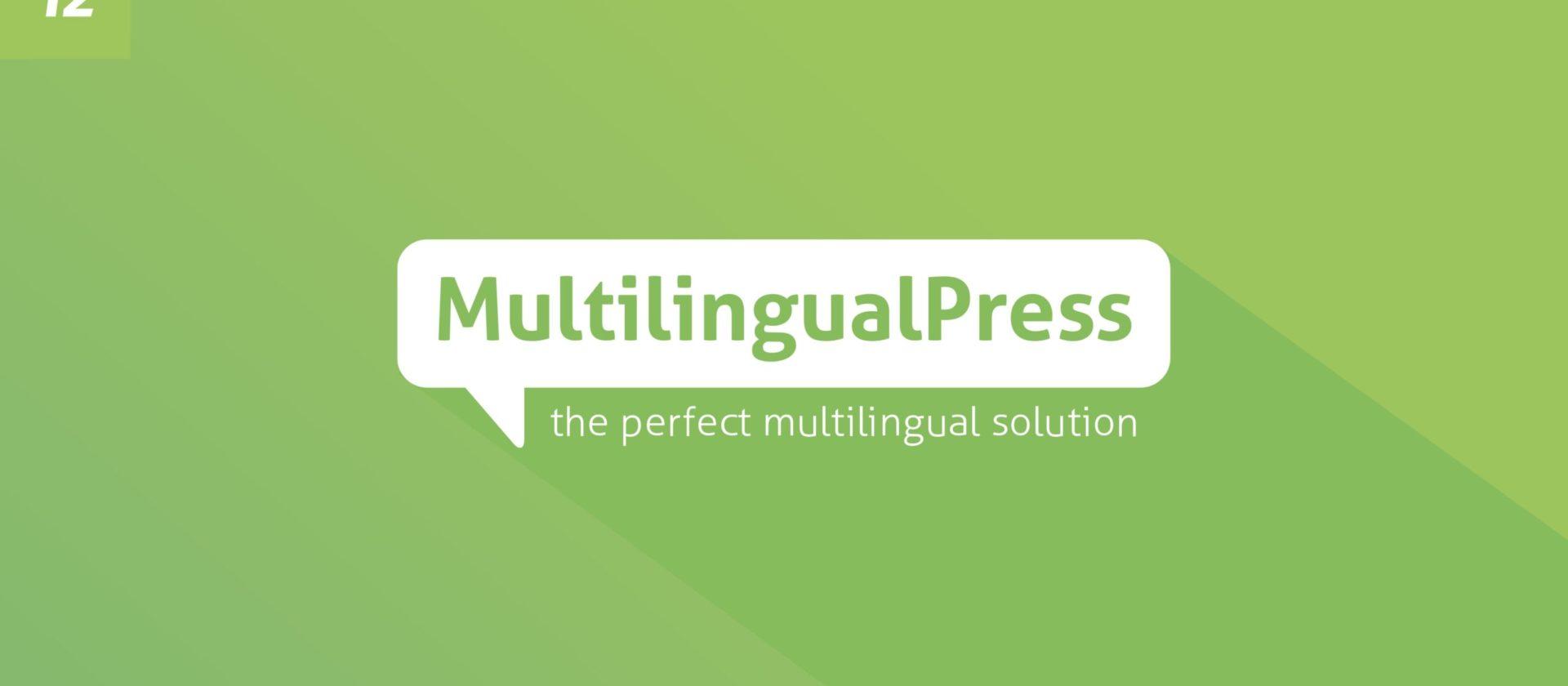 Mehrsprachige Onlineshops mit MultilingualPress