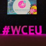 WCEU 2019 Hashtag Logo und Wapuu