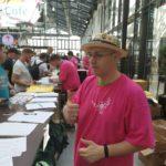 WCEU 2019 Robert hilft in der Orga