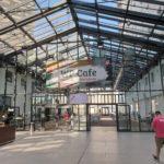 Estrel Berlin Wegweiser zum WP Cafe
