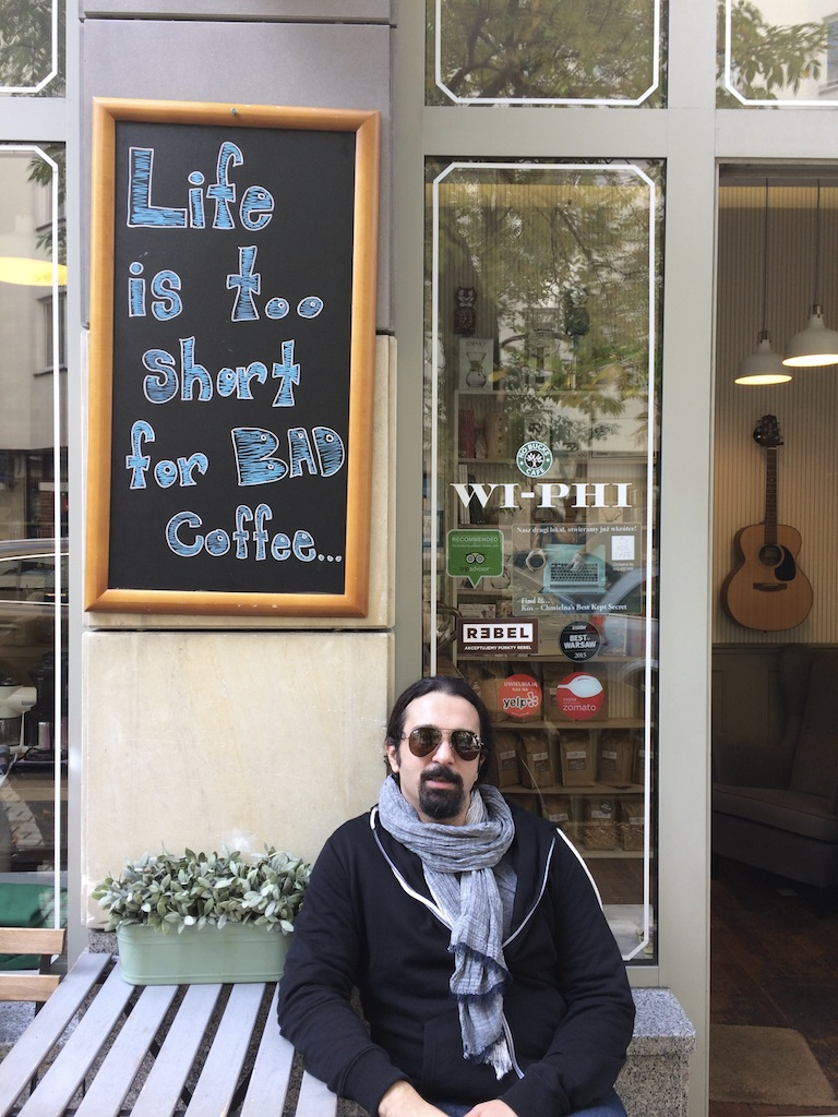 Inpsyde WordPress Engineer Anas Kashalo loves Coffee