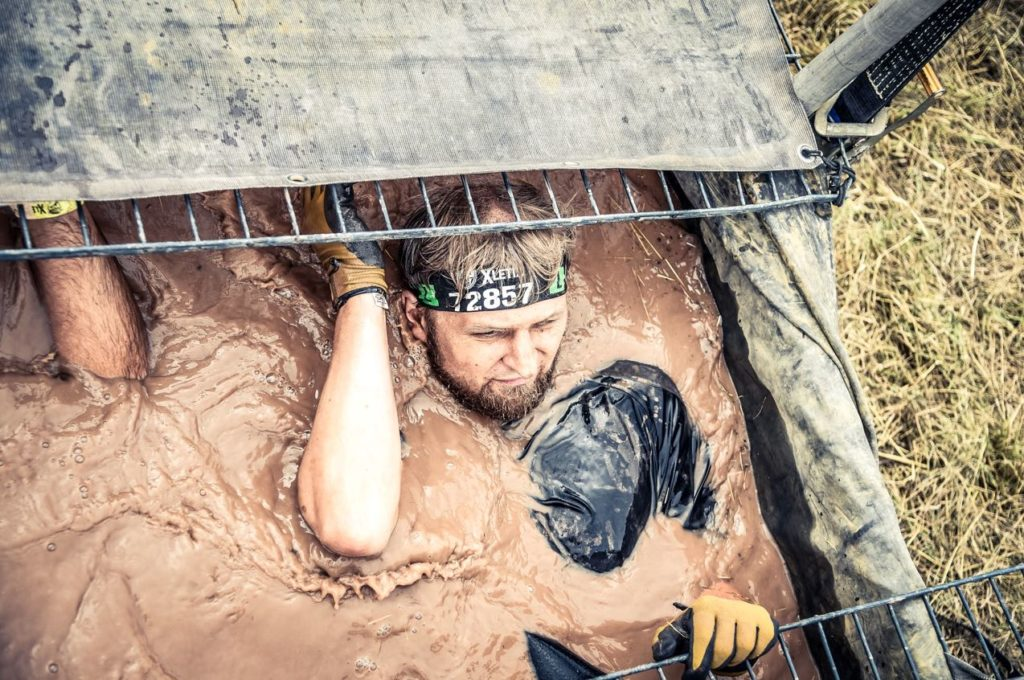Pierre Kindler loves challenges like extreme mud races