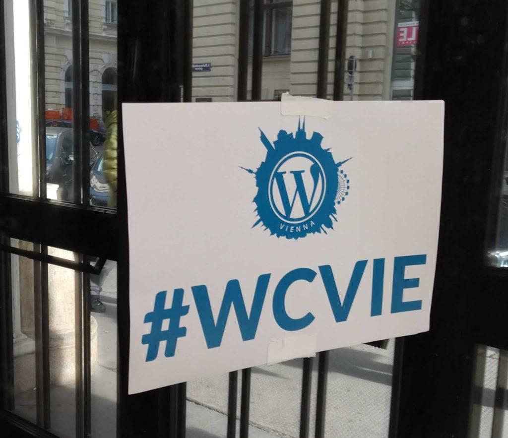 WordCamp Vienna Hashtag