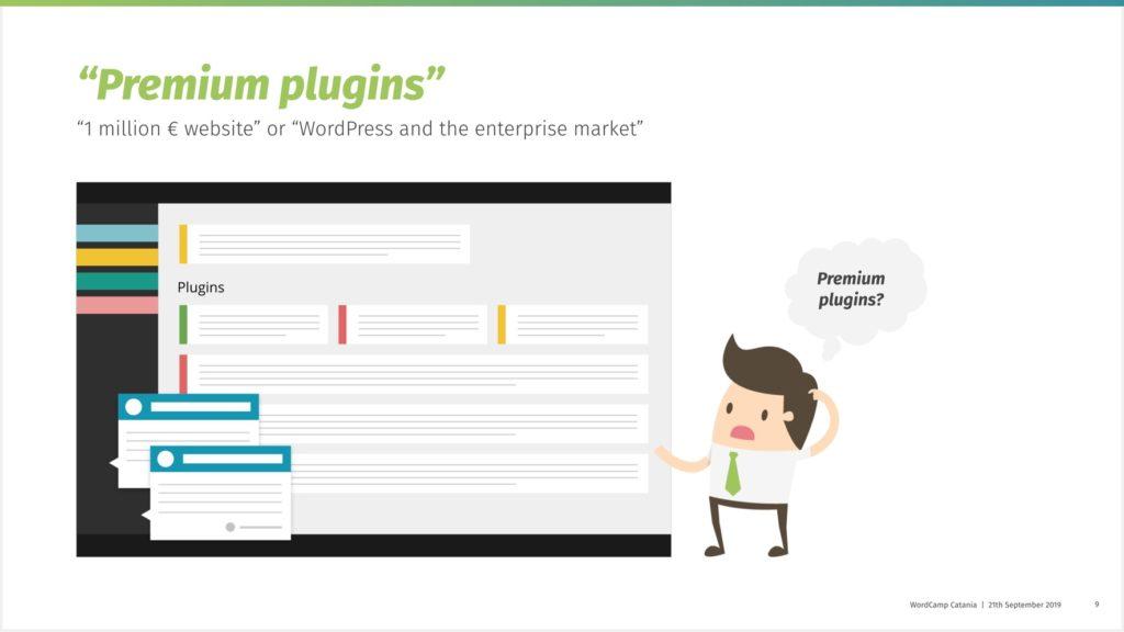 Beispielhafte Darstellung eines WordPress-Dashboards mit vielen Plugin-Meldungen