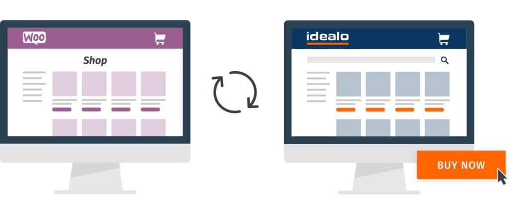 Mit idealo für WooCommerce können Sie WooCommerce mit idealo verbinden und Produkte über den Direktkauf auf idealo anbieten