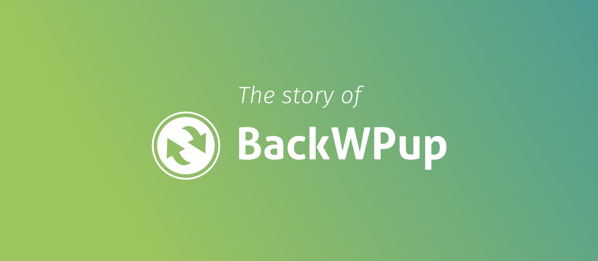 Header: The story of BackWPup