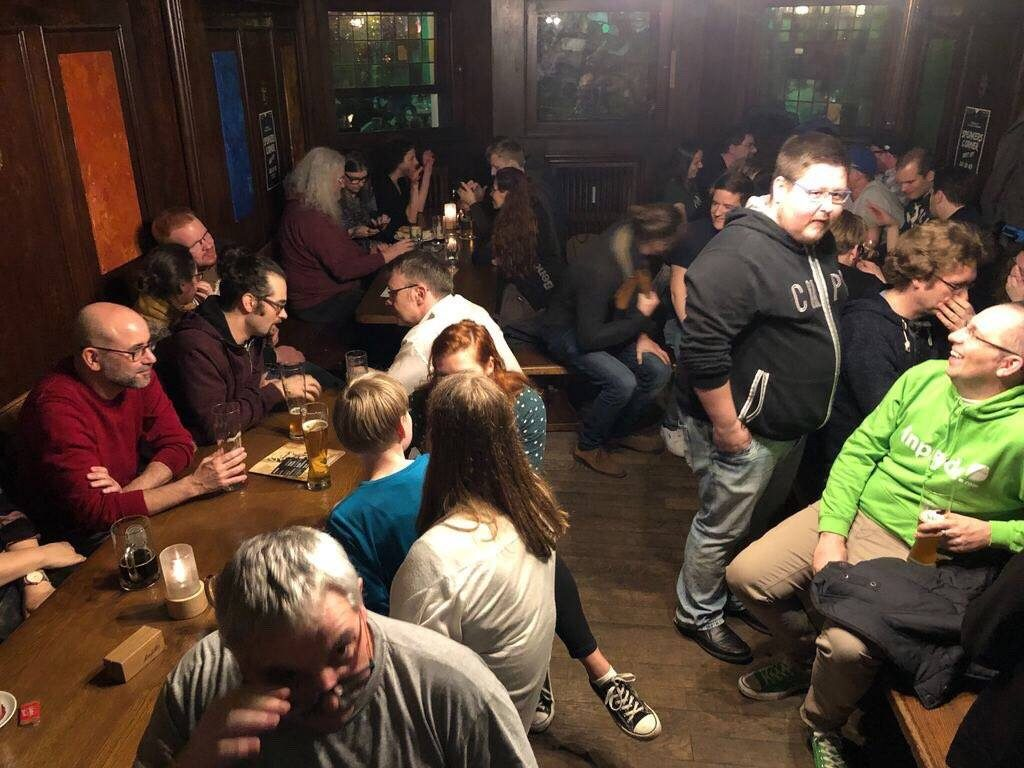 WordCamp-Osnabrueck 2019 Warm-Up Party