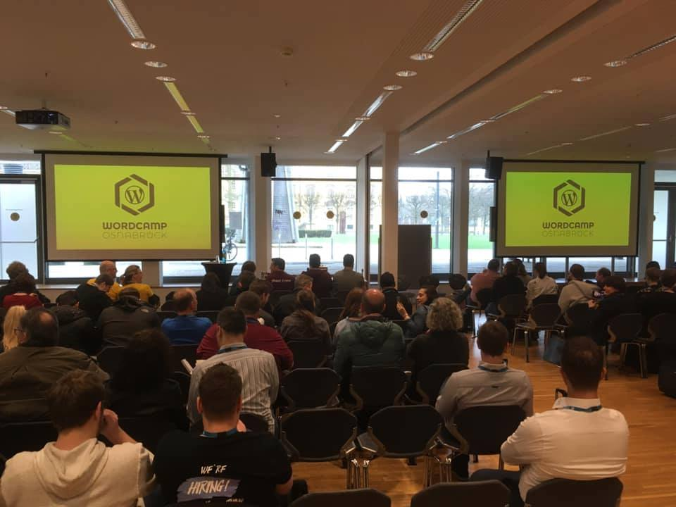 Crowded Rooms at WordCamp Osnabrueck 2019