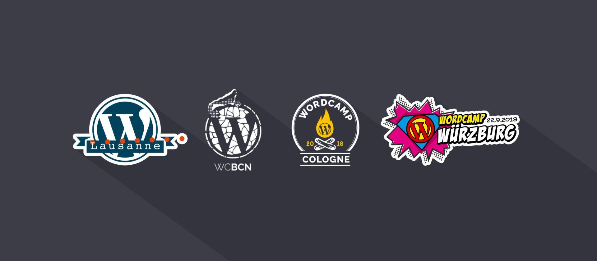 WordCamps worldwide 2018