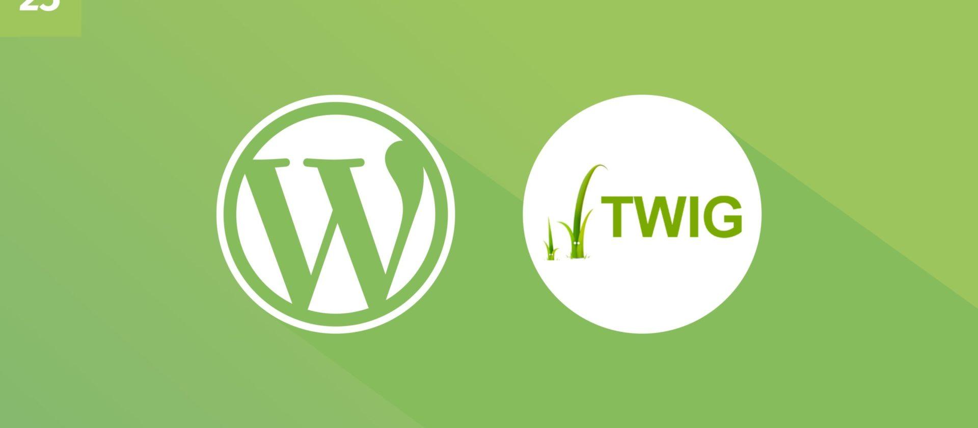 WordPress und Twig: Wie man Data von Views trennt